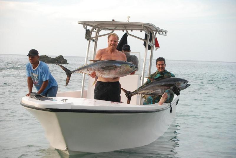 Caça submarina-panamá peixe